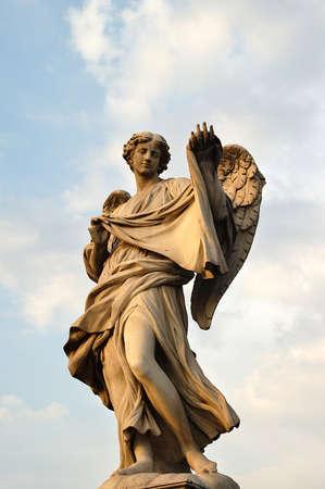 Angel Bridge in Rome, Italy