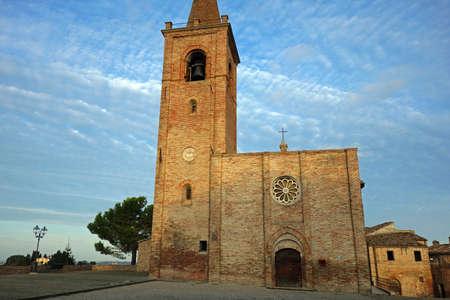 Chiesa di San Pietro Apostolo in Castignano Italy