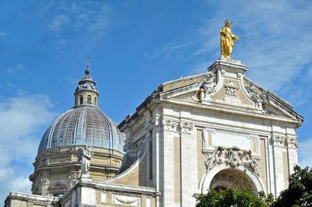 Santa Maria degli Angeli in Assisi Italy