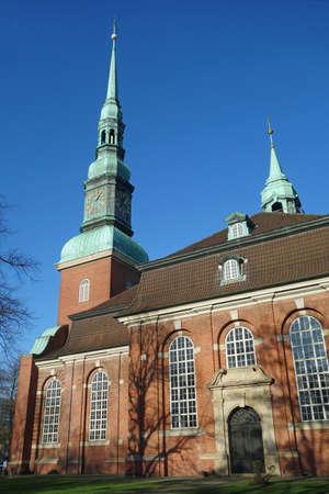 Evangelical main church St. Trinitatis in Hamburg Altona