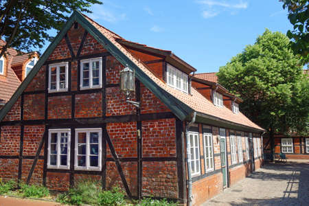 Hanseatic city of Stade in Lower Saxony