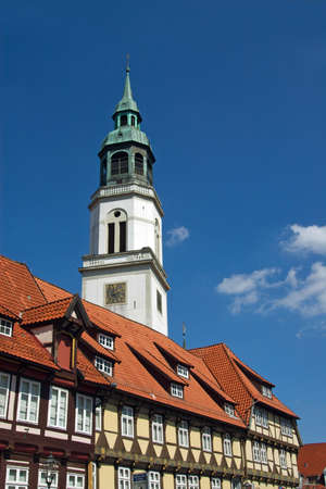 Historic old town of Celle Imagens