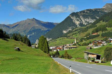 Reschenpass in South Tyrol
