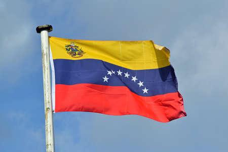 National flag of Venezuela Imagens