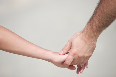 Hands of lovers Stock Photo - 14078957