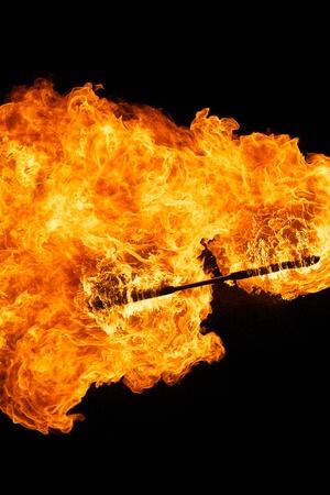 Fire stick Stock Photo