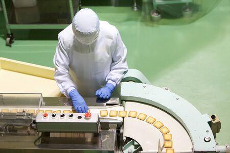 fabrikarbeiter: S��warenfabrik auf die Produktion cookie