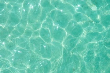 turquesa: agua luz verde de fondo rizado Foto de archivo