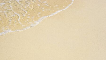 soft wave of the sea on the sandy beach Stock Photo - 15628266