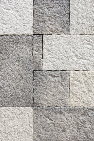 concrete blocks: decoraci�n de la pared de ladrillo textura de fondo