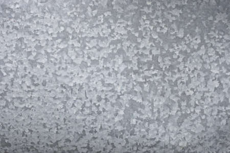 galvanized iron sheet metal texture background Standard-Bild