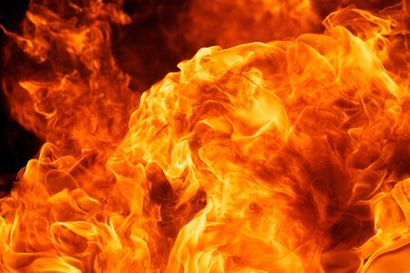 close up shot of blaze fire flame texture background Stock Photo - 17850530