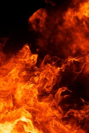 blaze fire flame texture background Stock Photo - 17997571