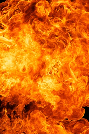 blaze fire flame texture background Stock Photo - 18081667