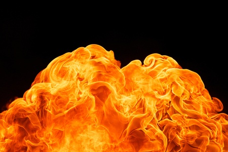 blaze fire flame texture background Stock Photo - 18081661