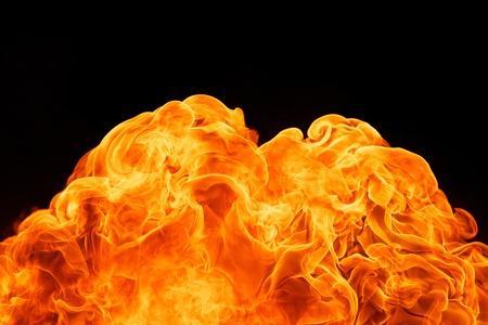 blaze fire flame texture background Stock Photo - 18081661