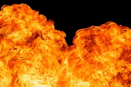 blaze fire flame texture background Stock Photo - 18081663