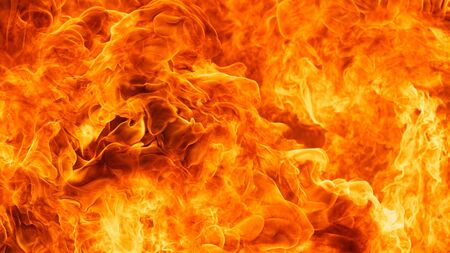 blaze fire flame texture background Stock Photo - 18704391
