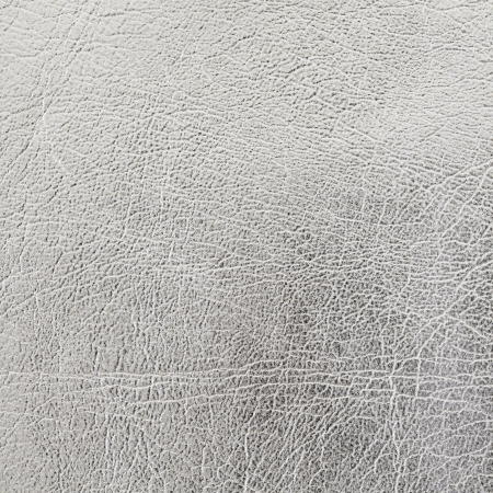 chamois leather: close up shot of silver leather texture background Stock Photo