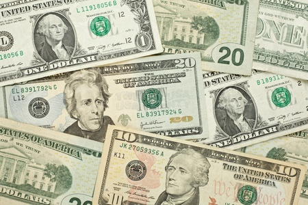American dollar money background for business Stock Photo - 21201566