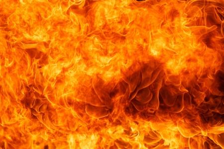 火の炎のテクスチャの背景をブレイズします。 写真素材