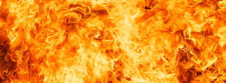 blaze fire flame for banner background Stock Photo