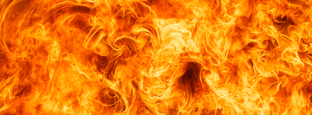 conflagration: blaze fire flame for banner background Stock Photo