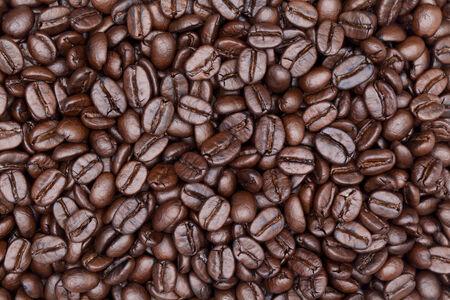 közelről lövés kávé háttér Stock fotó