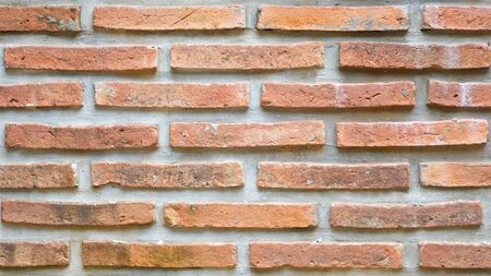 craft brick wall texture background in 16x9 ratio, HD Stock Photo