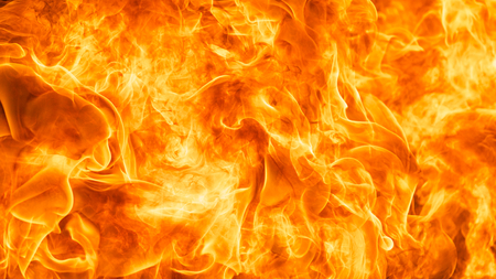 abstract blaze fire flame texture background in HD ratio, 16x9 Stock Photo