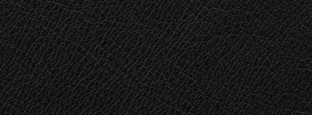 close up, macro shot of natural black leather texture background, space leather for rock fashion trend, dark tone style, theme, concept, design, leather jacket, bag, belt, shoes Banco de Imagens