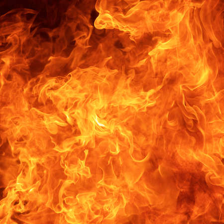 awesome fire flame texture background in square ratio Stock fotó
