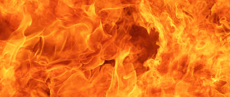 blaze fire flame conflagration texture for banner background, 64 x 27 ultra-widescreen aspect ratio 스톡 콘텐츠
