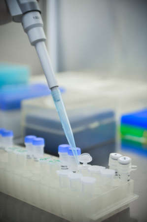 science tips: component preparation Stock Photo