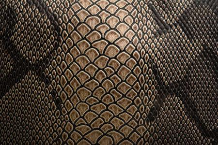 El patrón de fondo para el patrón de serpiente es marrón natural.