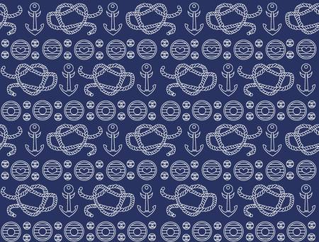 Seamless pattern  sea style   Stock Vector - 15807223
