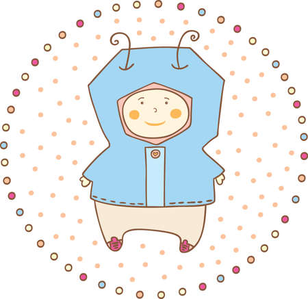 vector illustration  baby