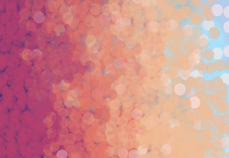 abstract background - orange bubbles