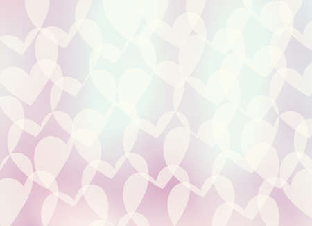 abstract gentle romantic background-heart  retro style  photo