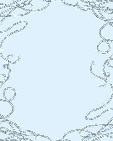 finesse: background  frame - sea knot