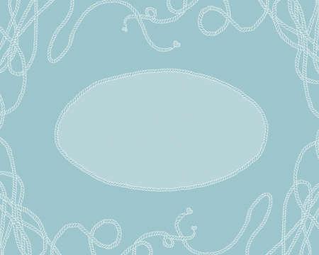 background frame-sea knot photo