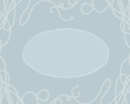 background frame sea knot photo