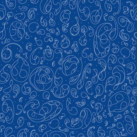 tadpole: seamless background  abstract image  tadpole