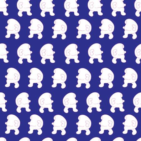 illusory: imagen vectorial personas sin patr�n abstracto