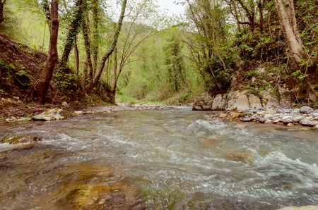 A great place to relax in the Pollino National Park Italy