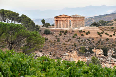 Ancient Doric Temple of Segesta built in the 420s BC