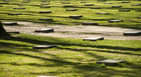 ypres: World war 1 graves in Ypres - Langemark