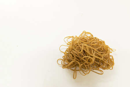 high resolution: High resolution picture of rubber bands