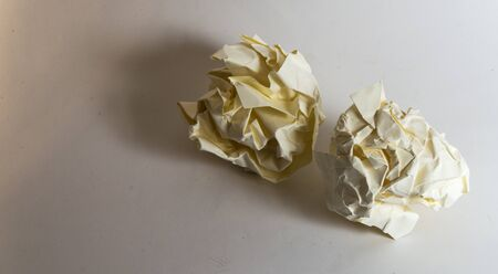 res: Crumpled paper Balls - High res image