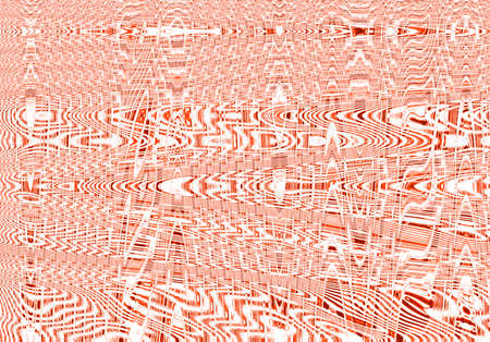 Red color graphic lines effect Stock Photo
